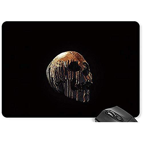 yyndw Alfombrilla Gaming con Skull Flank Scream Alfombrilla De Ratón Alfombrilla para Juegos Alfombrilla para Ratón Alfombrilla para Ratón Accesorios para Computadora 25X30Cm