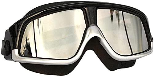 ZJJJD Gafas De Natación Gafas De Natación Silicona Marco Grande Gafas De Natación Gafas De Natación Impermeable Antivaho Uv-white_one Size Gafas Piscina Gafas Buceo Niño Gafas De Buceo Adulto