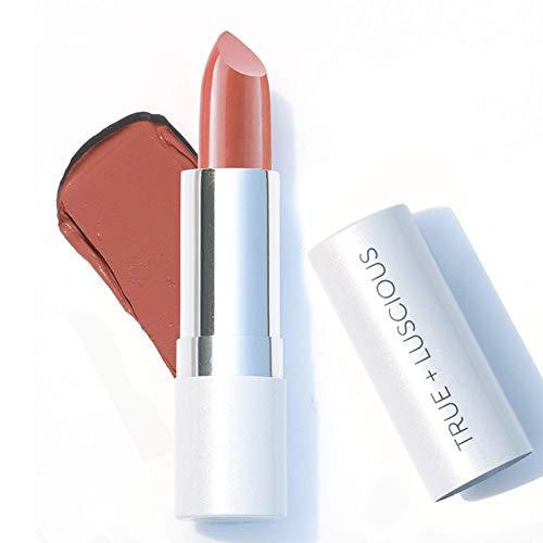 True + Luscious Super Moisture Lipstick - Vegan and Cruelty Free, Non Toxic Formula - 0.12oz, Shade:...