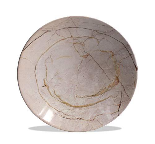 Très Grande Thai Marbre platines, 38.5 cm de diamètre – Choisissez Couleur/Design. (Motif D-S)