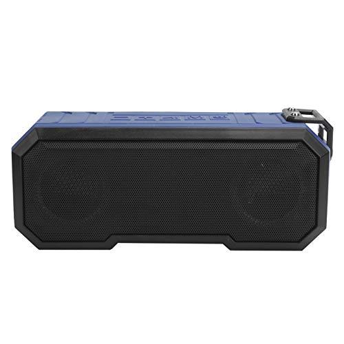 Seacanl Altavoz Impermeable IPX7, Altavoz con Sonido Estéreo Envolvente para Escuchar Canciones para Nadar Y Baño(Azul Claro)
