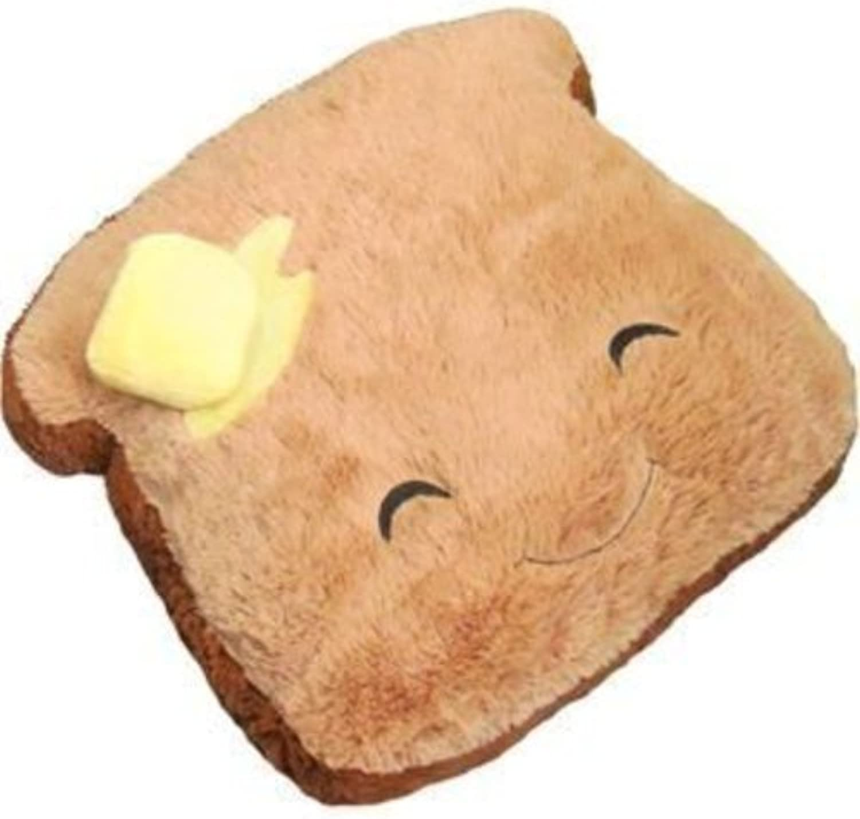 Squishable   Comfort Food Toast Plush, 19 Inch