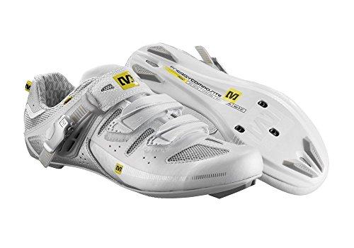 Mavic Giova Damen Rennrad Fahrrad Schuhe weiss 2014: Größe: 43