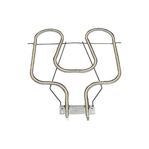 Heizelement Unterhitze Heizung Heizspirale Rillenrohrheizelement Heizstab für Gorenje 616021 1100W 230V Backofen Herd