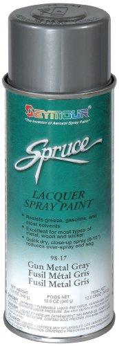 Seymour 98-17 Spruce Metallic Enamel Spray Paint, Nickel