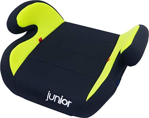 Petex Auto-Kindersitzerhöhung Max 103 ECE-Gruppe 2-3, Kinder von ca. 3,5-12 Jahre|15-36 kg, schwarz/grün