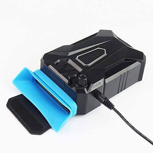 GG-home Vakuum-Portables Notebook Laptop Kühler USB-Luft-Außen Extrahierung Kühlventilator Für Laptop-Geschwindigkeit Einstellbar Für 15 15,6 17 Zoll