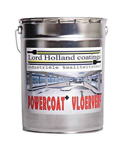 Pintura de suelo de poliuretano de calidad superior, color gris.