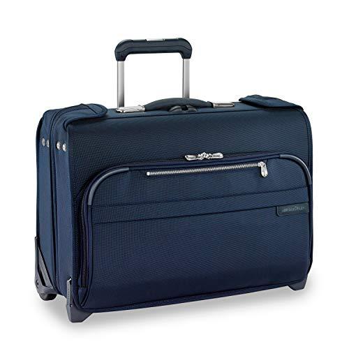Briggs & Riley Baseline-Softside Carry-On 2-Wheel Garment Bag, Navy, One SIze