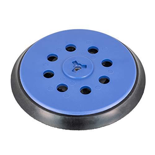 Schleifteller 150mm Klett 15-Loch für Bosch GET 75-150 Multi-Loch, mittelhart, für Bosch Professional Exzenterschleifer Ersatzteil - DFS