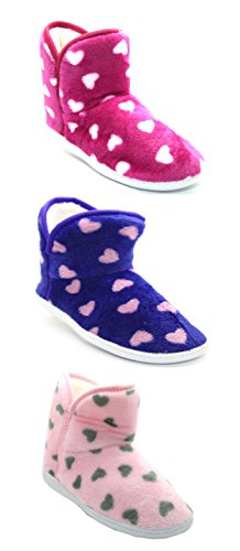 ShuCentre Slippers Womens Warm Indoor Slipper Laarzen Dames Laarzen Maat 3 4 5 6 7 8
