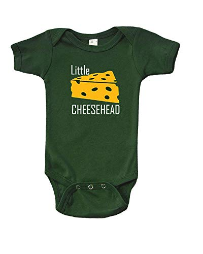 Little Cheesehead Onsie For Baby