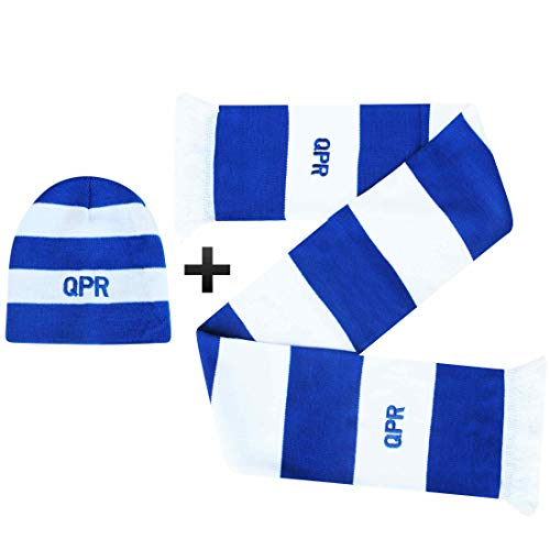 Ensemble Cadeau Officiel pour Fans de Football Queens Park Rangers (QPR)