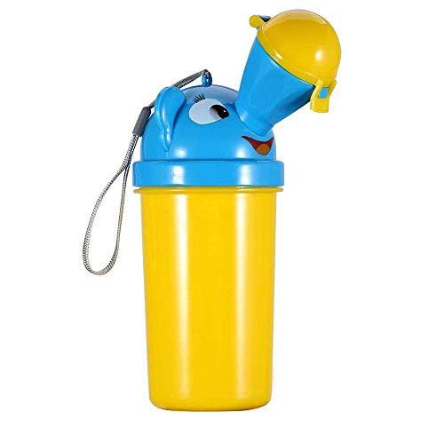Alxcio Kinder Töpfche Baby Pee Pissoir, tragbares PIPI Pissoir Flaschen Toiletten Notaufnahme Toilette für Reise Fahren im Freien Kid Potty Pee Training Camping (Junge)