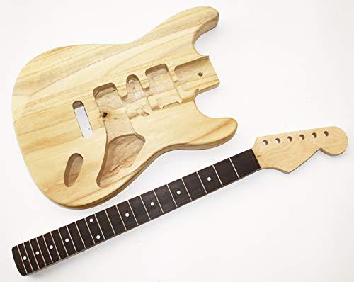 Body und Neck, Gitarrenkörper Gitarrenhals für E-Gitarre UG5
