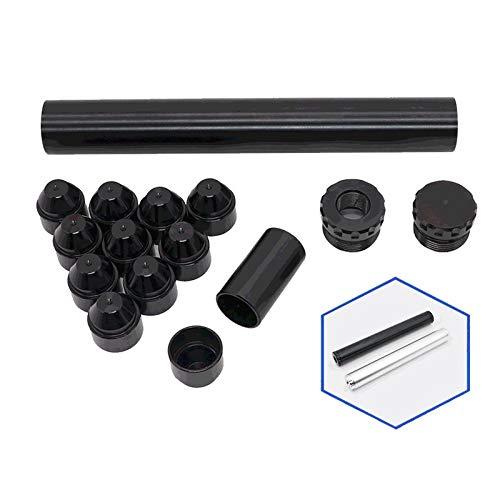 Kraftstofffilter 1/2-28 Auto-Kraftstofffilter 15st Aluminium Kraftstoff-Trap-Lösungsmittelfilter Kompatibel mit NaPa 4003 WIX 24003 Car Solvent Filter (Color : Dark Grey)