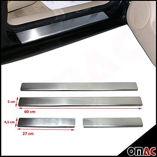 Chrom Einstiegsleisten Türschutzleisten für Golf IV 1998-2004 4 tlg aus Edelstahl V2A