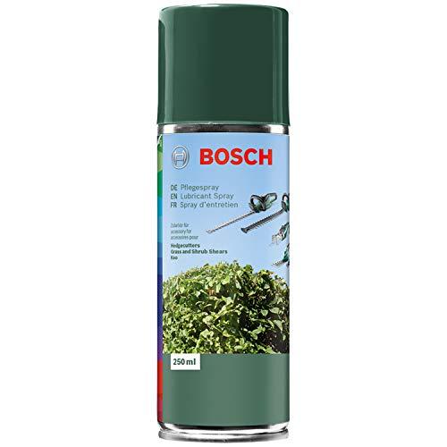 Bosch Pflegespray für Heckenscheren, Gras- und Strauchscheren, Keo – 250 ml