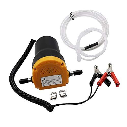 SM SunniMix Kit Pompe à vidange Extracteur Auto Huile Diesel de Voiture Moto 12v
