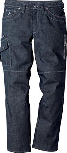 Fristads Arbeitshose Bundhose Jeans Service DY 273, Farbe:denimblau;Größe:156
