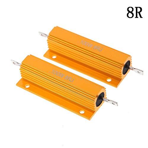 5x 2,7 K//17 Watt WIREWOUND-POWER-resistenza