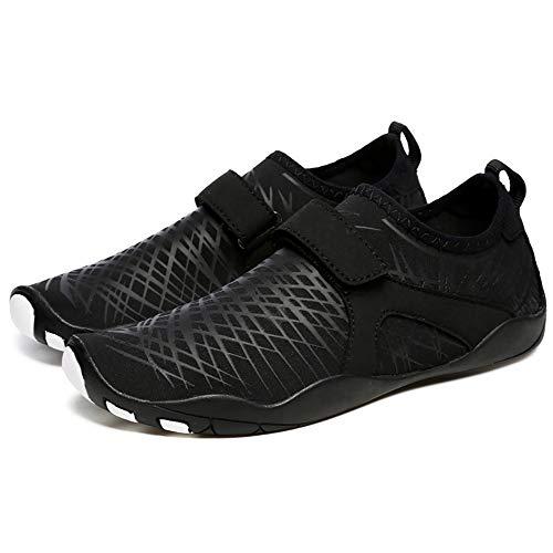 WHSS Zapatos de Playa Pareja de Verano Zapatos de Playa Zapatillas Antideslizantes Antideslizantes Antideslizantes Que absorben el Sudor Zapatillas de Deporte al Aire Libre Multi- Talla