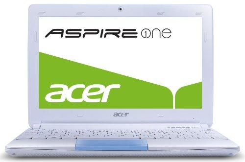 Acer Aspire one Happy 2 25,7 cm (10,1 Zoll) Netbook (Intel Atom N570, 1,6GHz, 1GB RAM, 250GB HDD, Intel 3150, Bluetooth, Win 7 Starter) blau