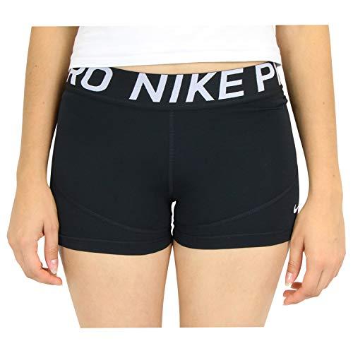 Nike Damen W NP SHRT 3IN Sportshorts, Schwarz (Black Ao9977-010), S