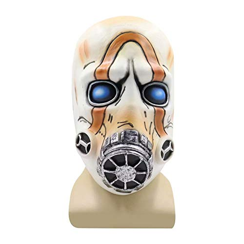 Adult Game Borderlands 3 Psycho Maske Halloween Scary Cosplay Requisiten Lustige Latex Masken Weihnachten Karneval Festival Neuheit Kostüm Gesichtsmasken - Einheitsgröße für Erwachsene