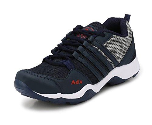 ADDOXY RADO-1 Men's Running Shoes (5, BL-Gry)