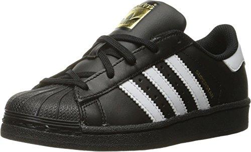 adidas Originals Superstar Foundation - Zapatillas de correr para hombre Negro Size: 28 EU