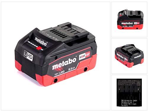 METABO Akkupack LiHD 18 V - 8,0 Ah (625369000)