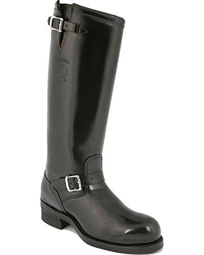 "Chippewa Men's 17"" Steel Toe 71418 Polishable Boot,Black,12 EE US"