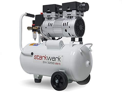 Starkwerk SW 325/8  Flüster Silent Druckluft Kompressor Ölfrei - 3