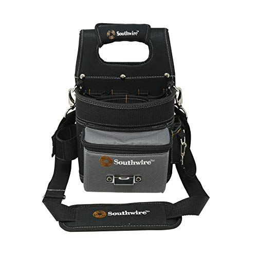 Southwire Tools amp Equipment BAGESP Electrician#039s Shoulder Pouch Tool Carrier