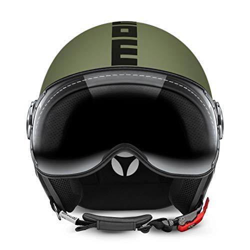 MOMO Design Casco CLASSIC Verde Militare Opaco, Taglia XL