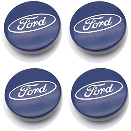 FOCUSE 2 3 4 MK2 MK3 Fiesta 4PCS 56mm y 60mm Emblem Wheel Center Center Caps Caps Badge Cubiertas Accesorios for autom/óviles Without Cubierta Central hubcap cami/ón Tuerca hubcaps ST Logo for Ford
