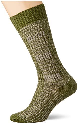 FALKE Herren Longevity Socken, grün (forest 7657), 39-42