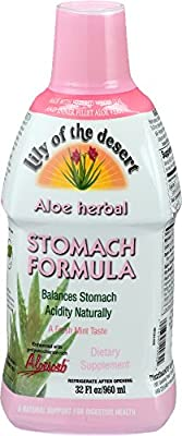 Lily of The Desert Aloe Herbal Stomach Formula 32 Fluid Ounce from Lily Of The Desert