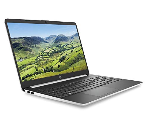HP 15s-fq0024na 15.6 Inch Full HD Laptop - (Silver) (Intel Pentium Gold 5405U, 4 GB, 128 GB SSD, Windows 10 Home)