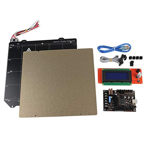 Semoic Einsy Rambo 1.1A Motherboard +2004 LCD Display MK52 Magnetic Hot Bed PEI Steel Plate for Prusa I3 MK3 3D Printer