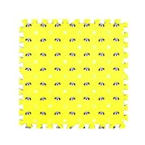 Fancy Citrouille 9pcs Mignon Chiens Imprimé imbriqués Tapis de Sol Puzzle Tapis de Jeu pour bébé Chambre d'enfant, 04