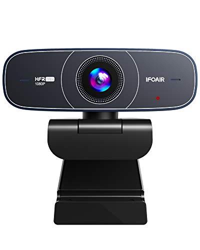 Webcam 1080P 60Fps Autofocus Marca IFOAIR