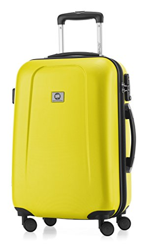 Hauptstadtkoffer - Trolley, color Amarillo, 55cm
