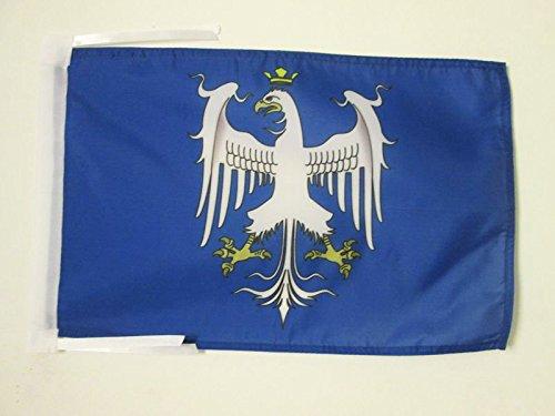 AZ FLAG Drapeau Duché de Modène Avant 1830 45x30cm - PAVILLON Italien Ancien - Italie 30 x 45 cm Haute qualité