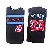 OKMJ Maillots de baloncesto para hombre, Bulls 23# Jordan Retro bordado Jerseys, malla transpirable sin mangas, chaleco deportivo de fitness Swingman Jersey A-XXL