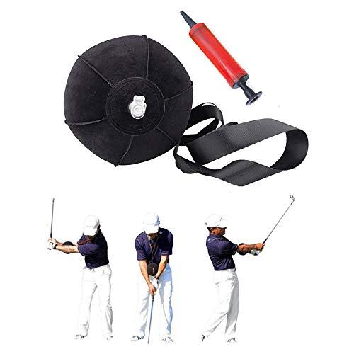 YMSM Inflatable Tour Striker Smart Ball Golf Swing Training Aid Posture Correction Beginner Golf Swing Training Assistance