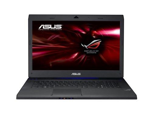 Asus G73JW-TZ092V 43,9 cm (17,3 Zoll) Laptop (Intel Core i7 740QM, 1,7GHz, 8GB RAM, 1,5TB HDD, nVidia GTX460, Blu-ray, Win7 HP) schwarz