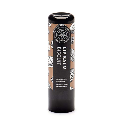 Simply Herbal Lip Balm Biscuit with Herbal Oil and Butter blend (5ml)