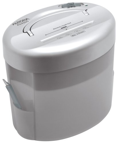 %9 OFF! Aurora AS420C Desktop-Style Cross-Cut Paper Shredder